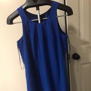 Cute Oleg Cassini Blue Dress